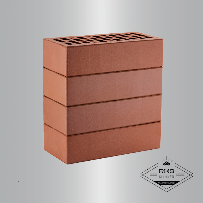 Кирпич облицовочный ЛСР, коричневый, гладкий, 1НФ в Москве