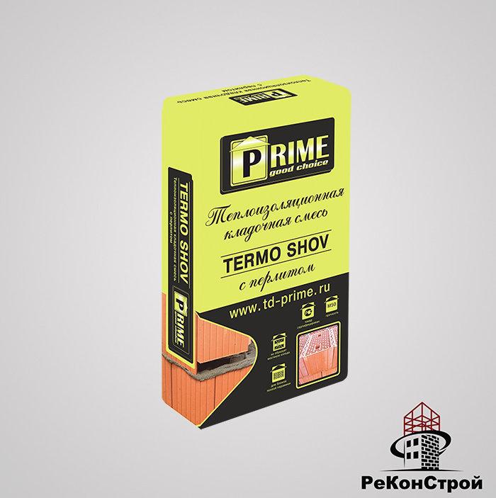Теплоизоляционный кладочный раствор PRIME Termo Shov 8230 17.5 кг в Москве